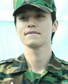 Lee Dong Wook Goblin, Lee Dong Wok, Army Look, Kdrama Actors, Falling In Love With Him, Gong Yoo, King Kong, Asian Men, Korean Actors