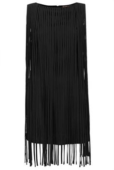**Long Fringe Tassel Dress by Kate Moss for Topshop