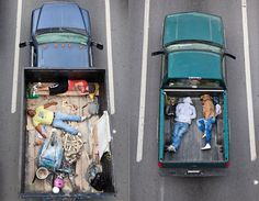 Sleeping Carpoolers by Alejandro Cartagena Color Photography, Street Photography, Construction Worker, Truck Bed, Bored Panda, Photojournalism, Public Transport, Pretty Pictures, Home Buying
