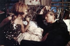 1991 - Rosanna Arquette as Lucy and David Bowie as Monte in The Linguini Incident.