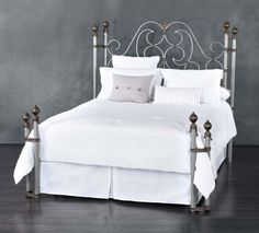 Bedrooms And More Seattle Decor coventry iron trundle bedwesley allen - rustic ivory finish
