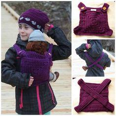 New Crochet Baby Doll Carrier Pattern Tutorials Ideas Crochet Keychain Pattern, Crochet Shoes Pattern, Crochet Patterns, Baby Girl Crochet Blanket, Baby Girl Blankets, Crochet Baby, Baby Doll Carrier, Baby Doll Accessories, Crochet For Beginners Blanket