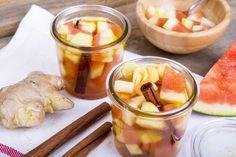 Zubereitung: Auf diese Art und Weise kann die gesamte Melone genutzt und...