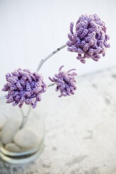 flowers      ♪ ♪ ... #inspiration_crochet #diy GB these are lovely x very clever heehee (clover/clever oh I thought it funny, hehe maybe you had to be there! lol )