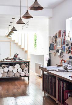 Studio Tour: Arounna + John of Bookhou | Design*Sponge