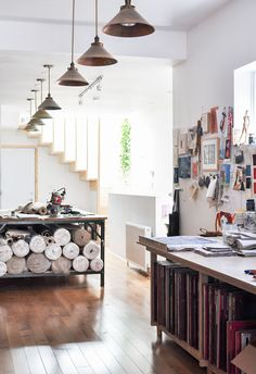 Studio Tour: Arounna + John of Bookhou | Design*Sponge