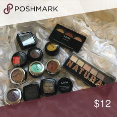 ✨NYX Makeup Bundle ✨ NYX Makeup Bundle. All have been swatched and the Palettes were used twice. I'm doing a makeup declutter. No trades NYX Makeup Eyeshadow
