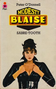 """everythingsecondhand:  """"Sabre-Tooth, by Peter O'Donnell (Pan, 1967). From a charity shop in Nottingham.  """""""