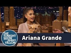 Ariana Grande Embarrasses Mother on Jimmy Fallon - Ariana Grande on The Tonight Show