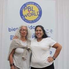Take photos on stage with your friends from #PBLWorld!  Learn more: http://pblworld.org/.
