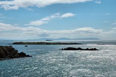 View of Kintyre from Port Ellen, Isle of Islay
