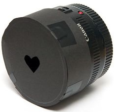 "Bokeh method: heart-shaped ""blur"" in photographs."