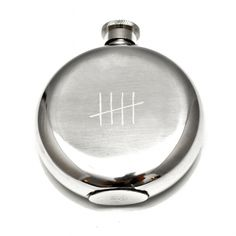 """Five"" 5 Ounce Flask"