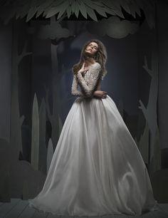 Ersa Atelier Fall 2016 Wedding Dresses - World of Bridal 2016 Wedding Dresses, Wedding Dress Styles, Designer Wedding Dresses, Wedding Gowns, Bride Dresses, Ersa Atelier, Dresser, Contemporary Dresses, Chic Wedding