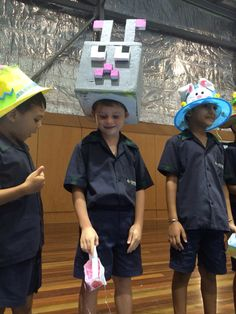 Easter hats Minecraft