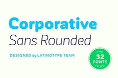 nice Corporative Sans Rounded - 79% off!
