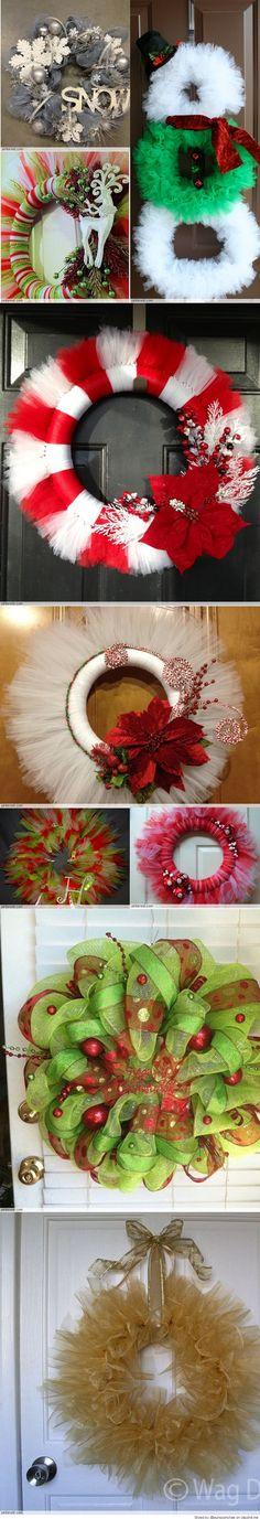 Tulle Christmas Wreath