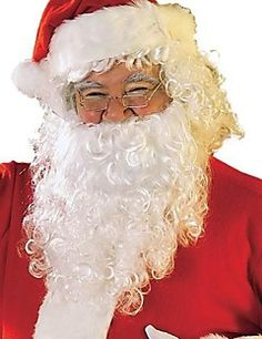 Adult Santa Beard + Wig + Hat Cospaly Outfit – EUR € 15.46