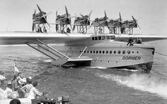 O DO X taxiando na água