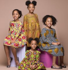 The Home of African Fashion Ankara Styles For Kids, African Dresses For Kids, African Children, Latest African Fashion Dresses, African Print Dresses, African Clothes, African Attire, African Wear, African Style