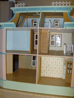 how to: dollhouse flooring