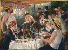 Le Déjeuner Des Canotiers Pierre-Auguste Renoir