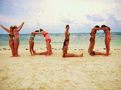 Cool idea to do with ur friends at the beach ;)
