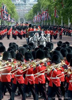Duke and Duchess of Cambridge joined Her Majesty and the members of the Royal Family for the annual Trooping the Colour Parade Duchess Of Cornwall, Duchess Of Cambridge, Trooping Of The Colour, Philip Treacy Hats, Horse Guards Parade, Parade Route, Queen Birthday, Young Prince, Duke Of York