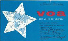 VOA, The Voice of America, Poro, The Philippines; Jan 1970