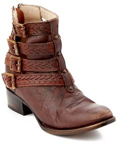 These ankle boots look as rugged as I feel..