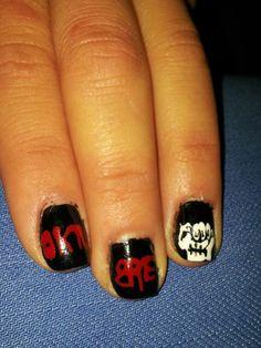 #uñas #nailart #indio #rock