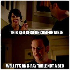 This bed is so uncomfortable. Well, it's an x-ray table not a bed. Radiology Student, Radiology Humor, Medical Humor, Nurse Humor, Radiography Humor, Radiologic Technology, Nursing Memes, Funny Nursing, Nursing Quotes