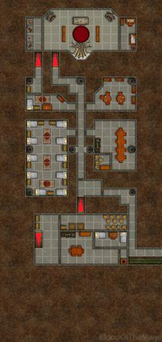 Temple Temple Basement - Grid