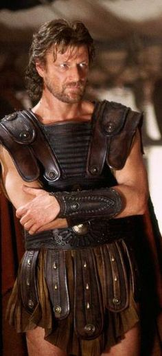 Sean Bean as Odysseus - someone posted this picture under crafts. Hum! I am just going to enjoy.