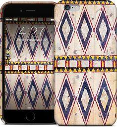 Ushaiger Village Door #wood #painteddoors #watercolor #najd #ushaiger #saudiarabia #ksa #ramadan #tribal #vintage #doorsofthemagickingdom #iphonecover  iPhone Cases