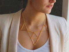 10 #Gorgeous #DIY Geometric #Accessories ...