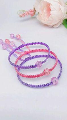 Diy Jewelry Unique, Handmade Wire Jewelry, Diy Crafts Jewelry, Diy Crafts For Gifts, Bracelet Crafts, Beaded Jewelry, Diy Bracelets Patterns, Diy Friendship Bracelets Patterns, Diy Bracelets Easy