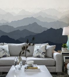 Mountain Mural Wall Art