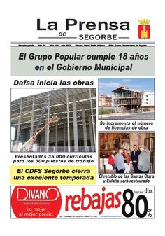 La Prensa de SEGORBE nº 164 Julio 2013