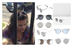 """""""Inspired spitfire sunglasses to Harry's"""" by nikka-phillips ❤ liked on Polyvore"""