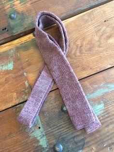 Speckled Mauve Pink Purple Wool Knit Tie Square by flickaochpojke #menswear #mensfashion #vintage #mensaccessories #vintagefashion #fallfashion