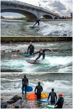 River surfing in Canada. Could one of Canada's coldest cities become the next hot river surfing capital? These Calgary and Kanaskis Country-based surfers think so.