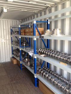 Sea Container Storage