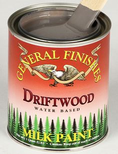 Driftwood Gray General Finishes Acrylic Milk Paint