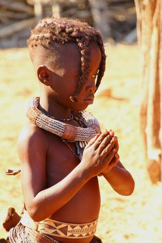 Visiting the Himbas. Kaokoland, Namibia