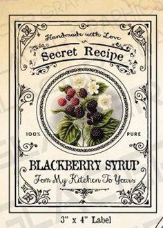 Confezione da 100/etichette adesive per marmellate fatte gelatine marmellata