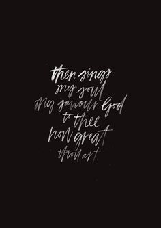 How Great Thou Art - original print from The Worship Project. Apologies for the long gap in between posts - I've been away with our wonderful Bethel Music creative team, on a documentary/film shoot in...: