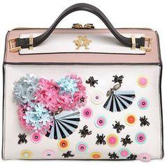 Giancarlo Petriglia Women Clari Embellished Leather Bag