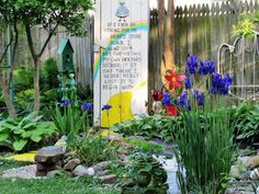 Themed Gardens and Beyond. When we saw Vickie Randolph's Wizard of Oz theme garden, we had to know more about her entire garden. What a treasure we found at the end of her Yellow Brick Road!