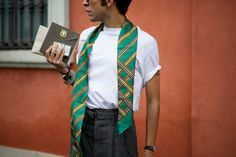 scarf trend.. nak try la trend style mcm ni!